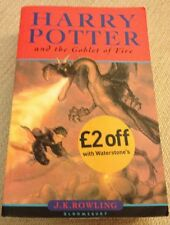 Harry Potter and the Goblet of Fire by J. K. Rowling (Paperback, 2001)