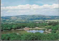 Llandrindod Wells, Powys - Lake from Golf Club - Judges postcard c.1980s