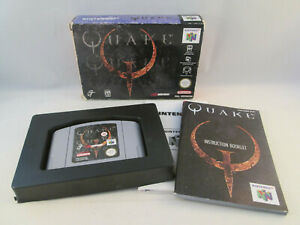 Nintendo 64 N64 - Quake 1 - Complete in Box CIB