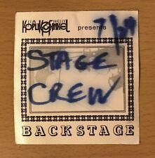 1983 Zz Top / Sammy Hagar New Haven Concert Koplin & Finkel Crew Backstage Pass