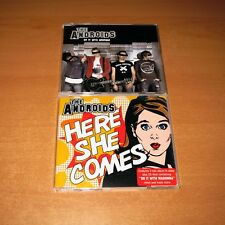 THE ANDROIDS - DO IT WITH MADONNA / HERE SHE COMES ~ LOT OF 2 CD SINGLE ~