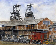 Allerton Bywater Colliery  1875 - 1992 - Ltd Ed Print - Pit Pics - Coal Mining