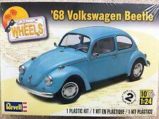 Revell 1968 Volkswagen Beetle 1/24 Scale Plastic Model Kit 85-4192