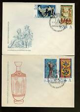 East Germany 1972 Stamp Exhibition FDC Set