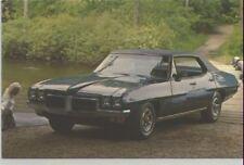 1970 Pontiac LeMans Sport 4-Door Hardtop Advertising Postcard