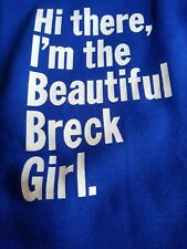 Vintage I'm Breck Girl Casuals Of Creslan Short Sleeve Sweatshirt Shirt Pullover