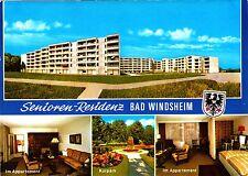 Bad Windsheim , Senioren-Residenz , Ansichtskarte ; ungelaufen