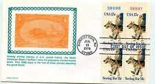 1787 Seeing Eye, Guide Dogs, Carrollton, plate block, FDC
