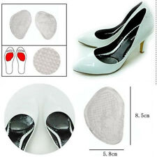 Shoe Heel Gel Flexible Cushion Insole Pads Front Foot Massage Care Nice Clear j