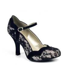 Ruby Shoo Imogen Lace Womens Hi HEELS Shoes 3 UK 36 EU 5 US