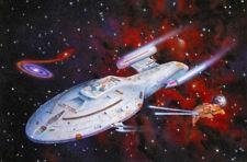 # STAR TREK VOYAGER USS VOYAGER 1 FRIDGE MAGNET, IMAGE SIZE 70MM X 45MM