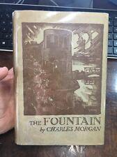 The Fountain By Charles Morgan Ww1 1932 Novel Hcdj First Edition Rare