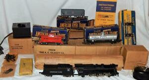 CLEAN 1949 American Flyer Set 4907AW Pennsylvania K-5 Freight BOXED 314AW complt