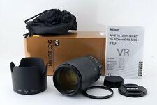 Nikon AF-S NIKKOR 70-300mm f/4.5-5.6 G ED VR From Japan [Near Mint] #384A 607
