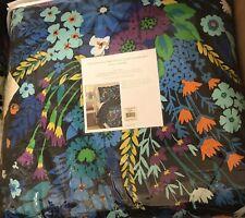 Vera Bradley XLTwin Comforter & Sham in Midnight Blues Never Used