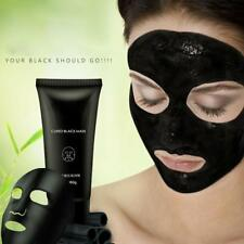 Blackhead Removal Bamboo Charcoal Peel Off Black Face Mask Deep Cleaning 60g Pop