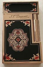 S.T. Dupont Limited Edition Travel In Time Ligne 2 Lighter, Pink Gold, 16982 NIB
