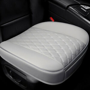 Car Front Seat Cover with Full Surround Breathable Pu Leather Cushion Upholstery
