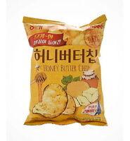 3x Haitai Bite Sized Honey Butter Seasoned Potato Chip 60g Korean Snack  are
