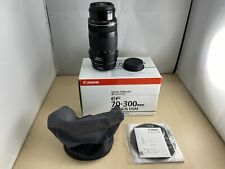 Canon telephoto zoom lens EF 70-300 mm F4-5.6 IS USM full size compatible