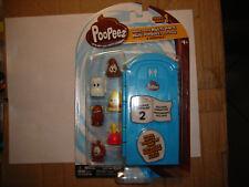 PooPeez Porta Potty Multi pack 6 PooPeez Series 1 Basic Fun 18 As Seen on Vu Sur