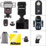 Speedlight Flash + 2.4G TRIGGER FOR NIKON D7100 D7000 D5100 D3200 D3100 D3400