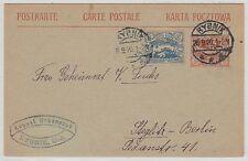 Oberschlesien RYBNIK 1920 Bedarfs-Postkarte nach Berlin-Steglitz (OPP 17309)