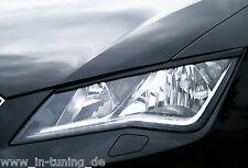 Ingo Noak Scheinwerferblenden Böser Blick aus ABS für Seat Leon 3, 5F ST