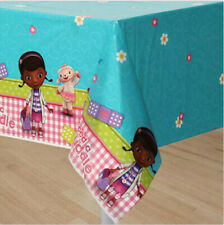 DOC MC STUFFINS plastic TABLECLOTH birthday party supplies 1 table cover Lambie