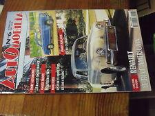 8µ? Revue Automobilia n°6 Racers 500 404 Cabriolets & Coupés Renault en Amerique