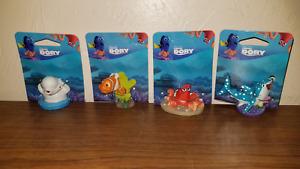 Penn Plax Hank On Sand,Bailey,Destiny& Nemo Mini Aquarium Ornaments each or all