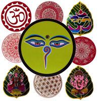 Aufkleber Sticker Lakshmi Ganesha Buddha Eyes Mandala Om Indien Nepal Spirit Goa