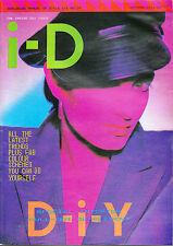i-D #19 10/1984 The Inside Out ANNA PIGALLE Nick Knight LEIGH BOWERY Marc Lebon