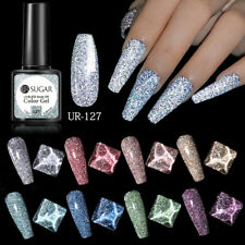 UR SUGAR Reflective Glitter Colorful Gel Polish Soak Off Nail Gel Varnish UV LED