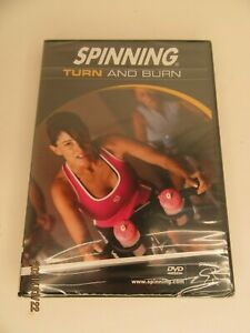 NEW Spinning Turn & Burn Indoor Cycling DVD  Sealed