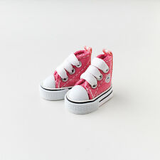 Neo Blythe Pullip Doll Canvas Sneakers Micro Shoes - Pink
