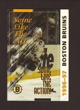 Boston Bruins--Ray Bourque--1996-97 Pocket Schedule--Blue Cross
