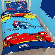 Disney Cars 'Piston' Rotary Single Bed Duvet Quilt Cover Set Brand New Gift