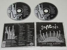 GENESIS/LIVE OVER EUROPE(ATLANTIC 375 100-2) 2XCD ALBUM