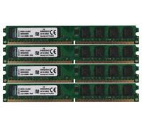 8GB Kingston 2GB x4pcs 2Rx8 PC2-6400U DDR2-800Mhz DIMM Memory Desktop RAM 240PIN