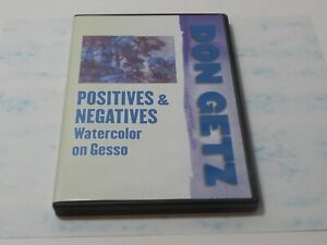 Positives & Negatives Watercolor on Gesso Don Getz DVD