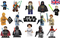 Star Wars Custom Lego Minifigures 100+ Minifigs Characters