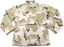 USGI Small Reg 3 Color Desert Camo DCU RAID Field Combat Shirt BDU