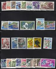 MONACO MNH LOT / COLLECTION OF COMPLETE SETS #105
