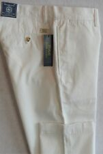 Polo Ralph Lauren Bedford Chino White Twill Pants 44/30 48/30 NWT