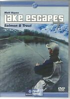 LAKE ESCAPES DVD - SALMON & TROUT WITH MATT HAYES