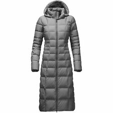 The North Face Women TRIPLE C II PARKA 550 Goose Down Long Coat Jacket Grey 10 M