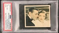 1934 Godfrey Phillips Shots From the Films 18 Clark Gable/Myrna Loy PSA 4 VG-EX