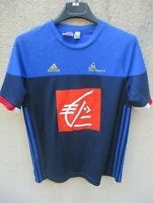 Maillot handball EQUIPE de FRANCE ADIDAS shirt 13 14 ans TRES BON ETAT