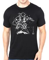 Attack On Titan Soulkr Style Unisex Adults Black T-Shirt
